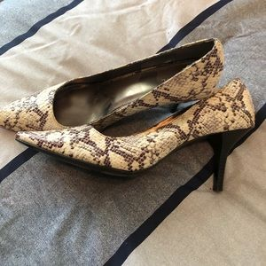 Snakeskin Merona Heels